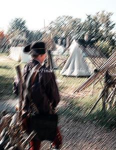 Standing Guard at Williamsburg