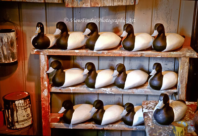 Decoy Shop on the Eastern Shore in Maryland