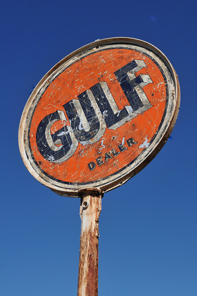 Brookhaven, MS. Gulf was a major gas company until it was swallowed in a corporate merger by BP.