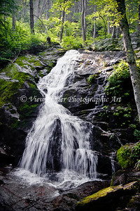 Crabtree Falls at the Blue Ridge Parkway