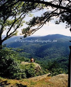 Man & Nature -Blue Ridge Parkway