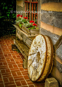 Amish Mill Stone
