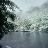 Snow on the Salmon River, Pulaski, NY