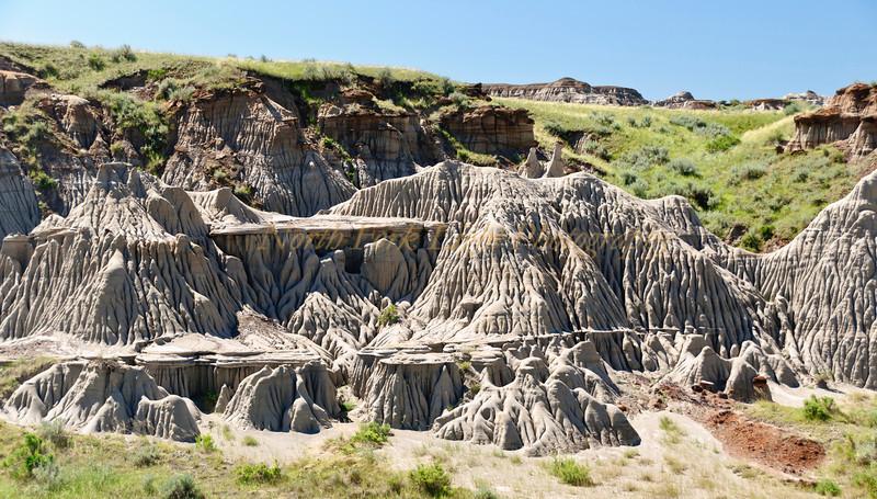 Erosion forms hoo doos