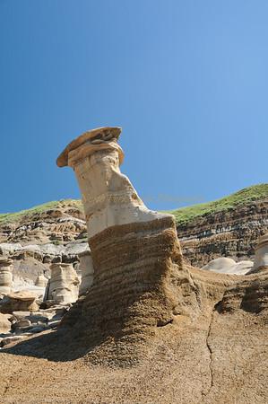 Erosion creates hoo doo