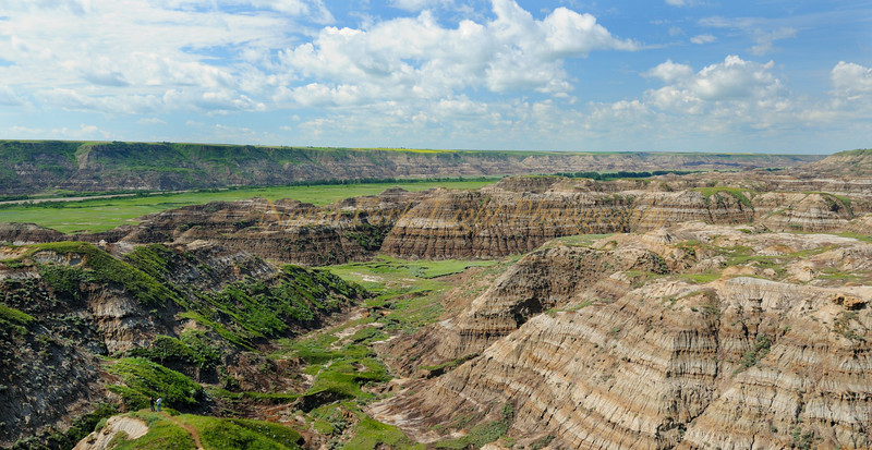 Horse Thief Canyon in Alberta.
