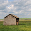 Workshed in a farmfield