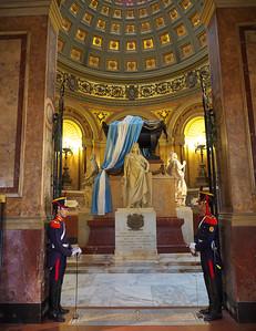 The Mausoleum of General San Martín