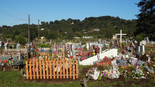 Cemetery near Puerto varas