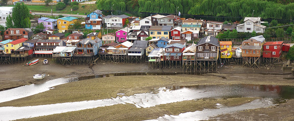 "Stilt Houses, ""Palafitos"""