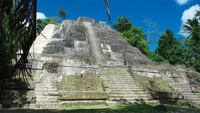 The High Temple of Lamanai