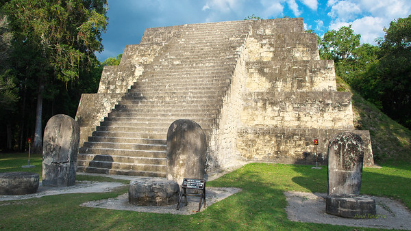Smaller structure on the way to the Great Plaza