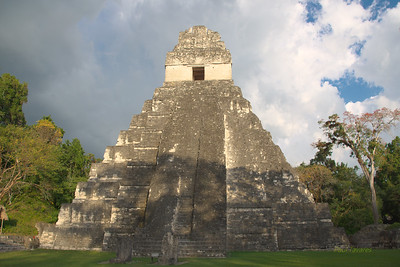 Tikal Temple I also called Temple of the Great Jaguar