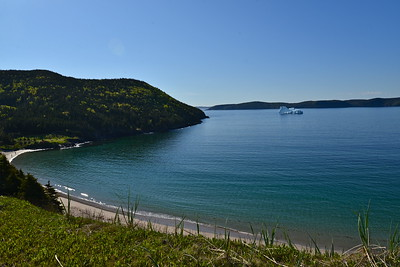 Just another beautiful day in Sandy Cove, Newfoundland.