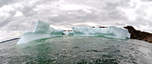 Went searching for icebergs today and found this beauty just off of Swale Island, Newfoundland. © 898 Photography, 2014.