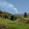 View towards Turrialba volcano.