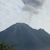 Arenal volcano eruption.