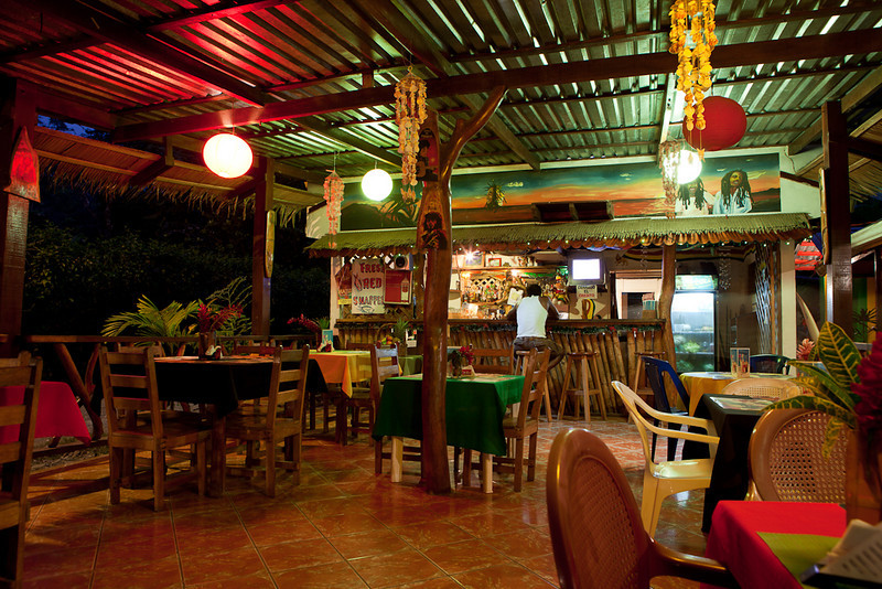 Red Snapper Reggae Bar & Restaurant, Cahuita.