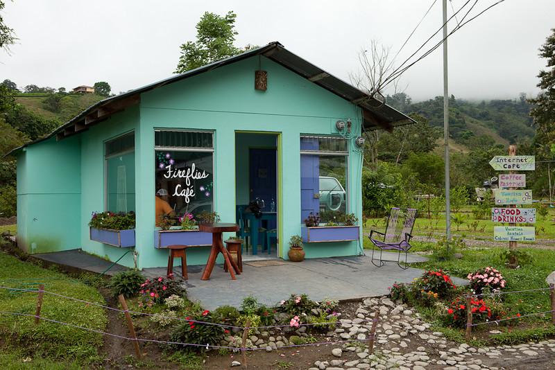 Fireflies Cafe, El Castillo.