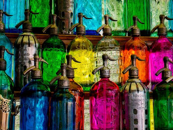 Antique Seltzer Bottles #1 - Buenos Aires, Argentina