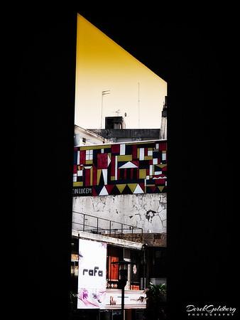 View through a Doorway #1 - Montevideo, Uruguay