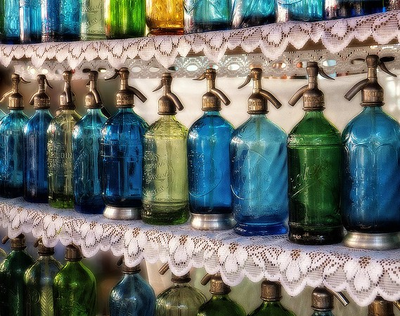 Antique Seltzer Bottles #2 - Buenos Aires, Argentina