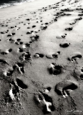 Footsteps in the Sand #1 - Cabo San Lucas, Mexico
