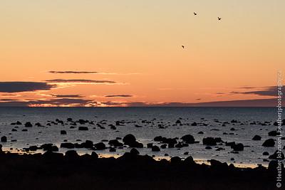 Sunset over Hudson Bay