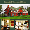 F.D.Roosevelt spent summer vacations from 1909 to 1921 at the family home on Campobello Island off the coast on New Brunswick, Canada. Sailing, tennis, horseback riding, and hiking filled their days. On August 10, 1921 FDR and the children battled a small forest fire. That evening he complained of chills and aches and went to bed early. Two days later he was paralyzed from the chest down. This house is now part of the Roosevelt Campobello International Park.
