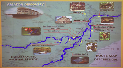 Amazon Discovery Route Map