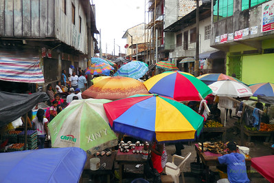 The market in Iquitos