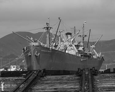 SS Jeremiah O'Brien at the San Francisco docks