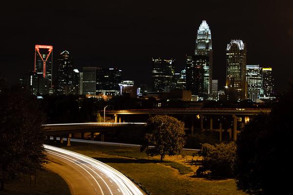 Charlotte skyline