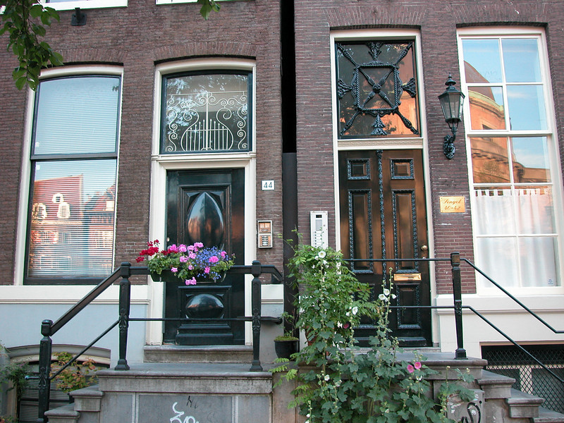 I love doors in general, especially the ones in Amsterdam...