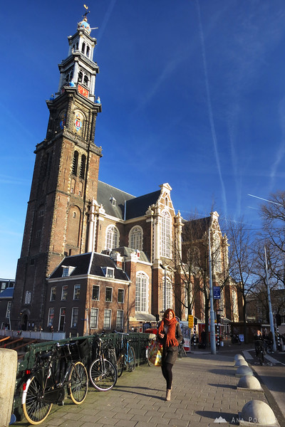 West Church (Westerkerk) in Amsterdam
