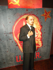 Madame Tussaud's waxworks in Amsterdam