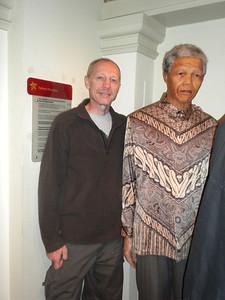 Me with 'President Nelson Mandela'