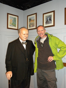 Me with 'Winston Churchill'