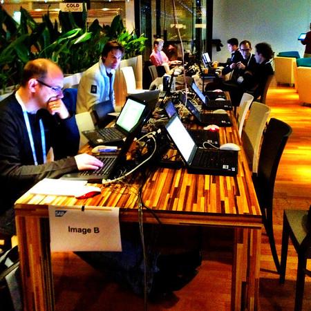 Speakers at work