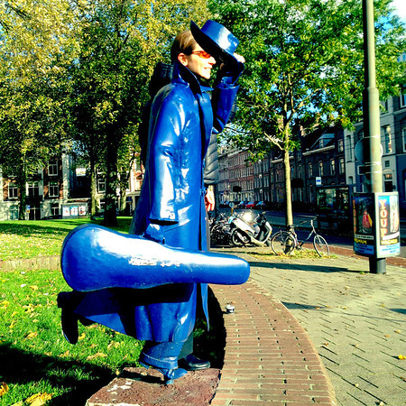 Linda is Amsterdam's music man