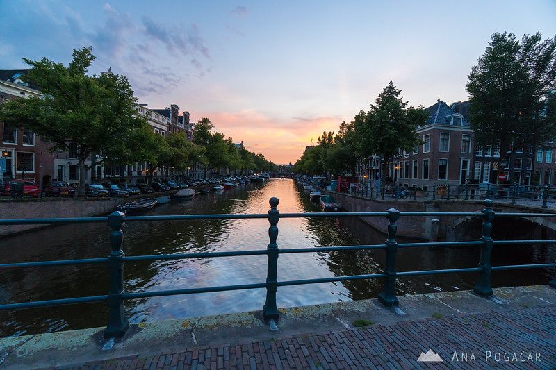Amsterdam during blue hour