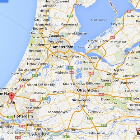 AMS Delft Map