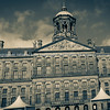 Impressive Royal Palace, originally Town Hall, dominates west side of Dam Square