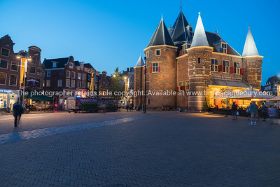 De Waag, one of the oldest buildings in Amsterdam.