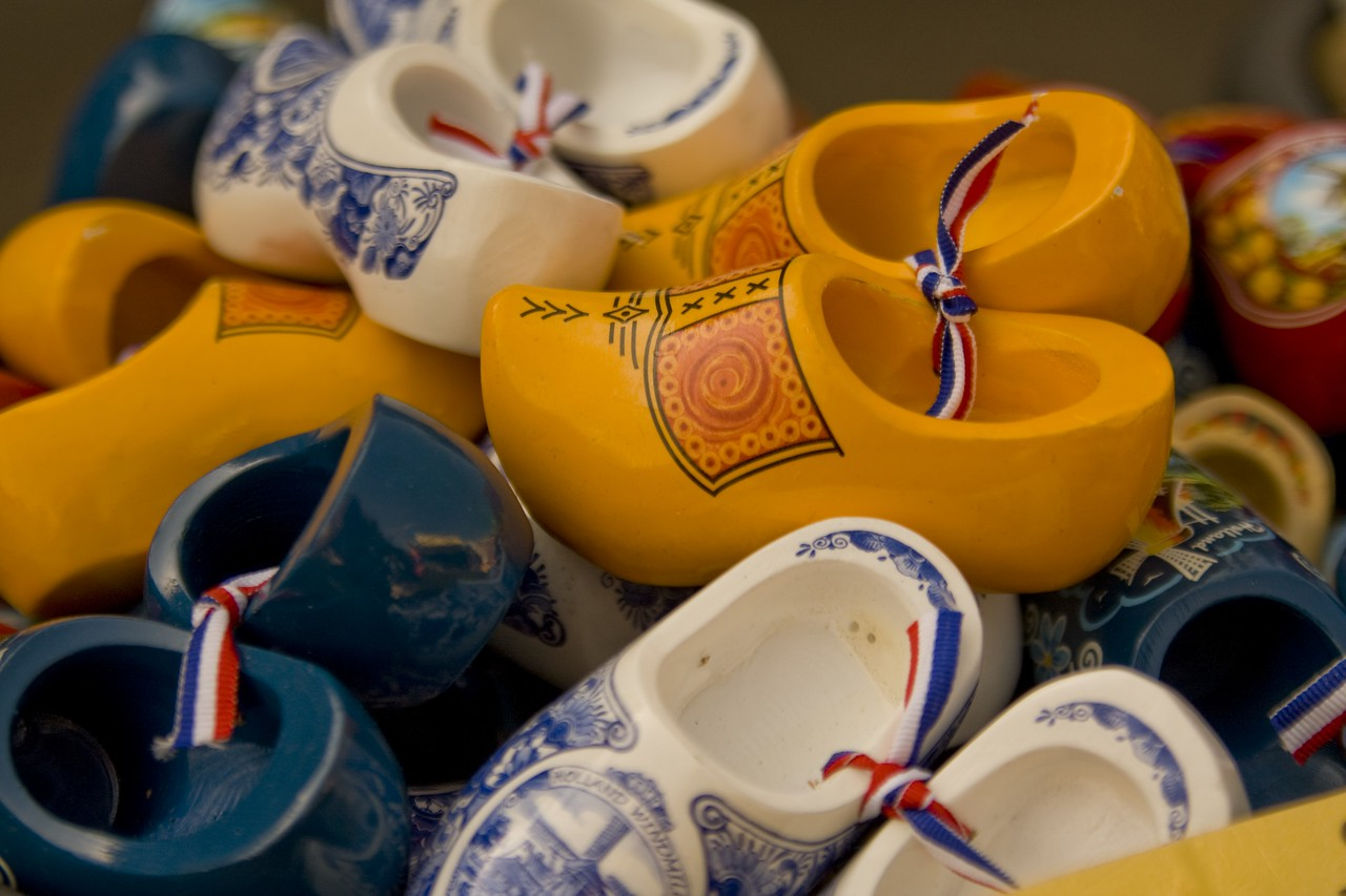 Wooden shoes!