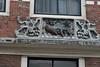 Building decoration in Haarlem