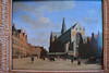 Square behind the Grote Kerk in Haarlem, painted in the 17th century