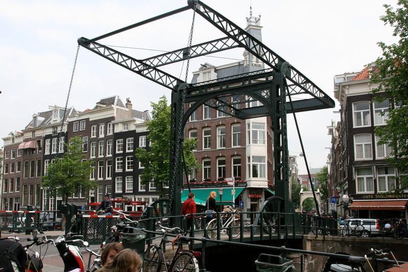 Drawbridge in Amsterdam