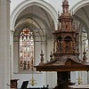 Fifteenth century pulpit in the Neuiwe Kerk, Amsterdam