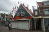 Finest Food Corner. Water-front shops as well as restaurants at Volendam, Netherlands near Amsterdam.